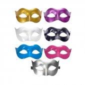 Yılbaşı Parti Maskesi Karışık Renk 12 Adet