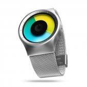Ziiiro Celeste Chrome-Colored Unisex Kol Saati-2