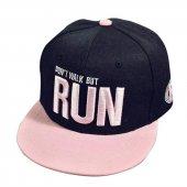 Siyah Run Hiphop Şapka