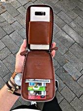 Crown Taba Telefon Cüzdanı