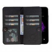 Double Magıc Wallet Iphone X Black 2ın1
