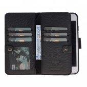 Double Magıc Wallet Iphone 6 7 8 Black 2ın1