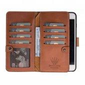 Double Magıc Wallet Iphone 6 7 8 Taba 2ın1