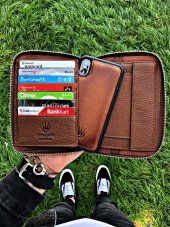 Multı Passport Taba Telefon Cüzdanı