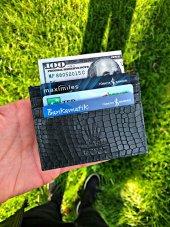 Card Holder Green Mılano Lımıted Edıtıon