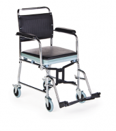 Ky689 Tuvaletli Katlanır Tekerlekli Sandalye Comfort Plus