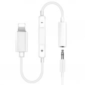 Iphone Uyumlu Lightning To 3.5 Mm Kulaklık Jack Dönüştürücü Kablo