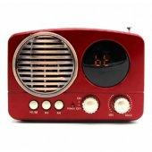 Meier M 163bt Ekranlı Fm Radyo Bluetooth Usb Tf...