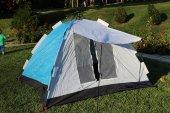 7 Kişilik Otomatik Kaliteli Çantalı Kamp Çadırı 250x250x160 Cm