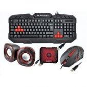 Yeni Gaming Oyuncu Klavye, Mouse 1+1 Hoparlör...
