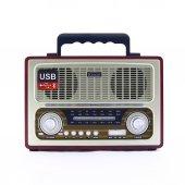 Kemai MD-1800BT Bluetooth Usb Sd Fm Nostaljik Radyo