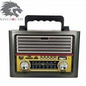 Kemai MD-1705BT Bluetooth-Fm Radyo-Usb-SD KART Antenli Radyo