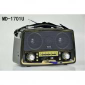 Kemai MD-1701U Usb Sd Fm Nostaljik Görünümlü Radyo Müzik Kutusu