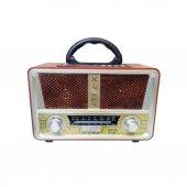 Meier M 112bt Şarjlı Nostaljik Radyo Usb Sd Mp3...
