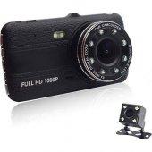 Soloner Sl115 Fullhd 1080p Çift Kamera Araç İçi Güvenlik Kameras