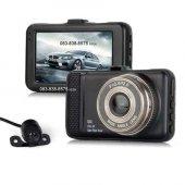 Soloner Sl92 Fullhd 1080p Çift Kamera Araç İçi Güv...