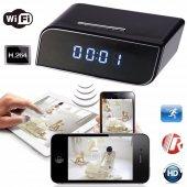 Masa Saati Ip Kamera Hd 720p Wifi Alarmlı Saat Kam...