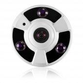 Kingboss 360º Gerçek HD Wifi Kablosuz IP Bebek Kamera Gece Görüş