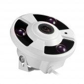 Kingboss 360º Gerçek HD Wifi Kablosuz IP Bebek Kamera Gece Görüş-2