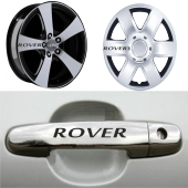 Rover Kapı Kolu Ve Jantlara 10lu Sticker Set