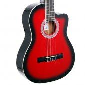Rodriguez RCC550RB Kırmızıburst Gitar Klasik-2