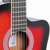 Rodriguez RCC550RB Kırmızıburst Gitar Klasik-3