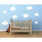 Bulutlar Bebek Ve Çocuk Odası Duvar Sticker