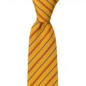 Mendilli Sarı Kravat