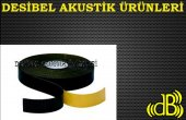 Desibel Akustik Ses Yalıtım Bandı Kauçuk Bant Yanmaz 10cm 3mm