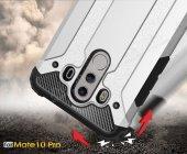 Tough Power Huawei Mate 10 Pro Ultra Koruma Silver Kılıf-4