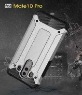 Tough Power Huawei Mate 10 Pro Ultra Koruma Silver Kılıf-5