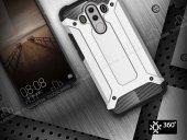 Tough Power Huawei Mate 10 Pro Ultra Koruma Silver Kılıf-6
