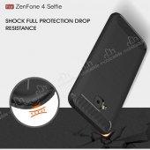 Eiroo Asus ZenFone 4 Selfie ZD553KL Ultra Koruma Gri Kılıf-8