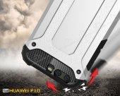 Tough Power Huawei P10 Ultra Koruma Silver Kılıf-3