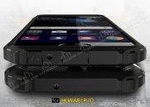 Tough Power Huawei P10 Ultra Koruma Silver Kılıf-4