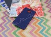 Samsung Galaxy J7 Max Mat Lacivert Silikon Kılıf-2