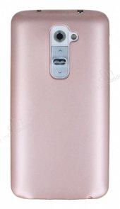 LG G2 Mat Rose Gold Silikon Kılıf