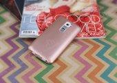 LG G2 Mat Rose Gold Silikon Kılıf-2