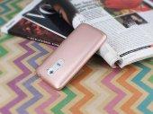 LG G2 Mat Rose Gold Silikon Kılıf-3