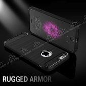 Eiroo Carbon Shield iPhone 6 / 6S Ultra Koruma Dark Silver Kılıf-6