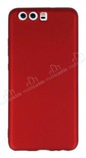 Huawei P10 Mat Kırmızı Silikon Kılıf