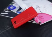 Dafoni AirSlim Casper Via A1 Ultra İnce Mat Kırmızı Silikon Kılıf-4
