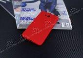 Dafoni AirSlim Casper Via A1 Ultra İnce Mat Kırmızı Silikon Kılıf-5