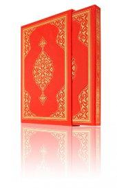 Cami Boy Renkli Kuran-ı Kerim (Mühürlü, Kutulu, Yaldızlı)-3