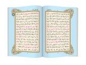 Cami Boy Benim Kuranım (Özel, Mavi Kapak, Mühürlü) Kuranı Kerim Hayrat Neşriyat-2