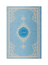 Rahle Boy Benim Kuranım (Özel, Mavi Kapak, Mühürlü) Hayrat Neşriyat  Kuranı Kerim
