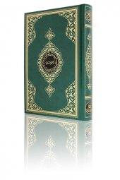 Rahle Boy Kuran I Kerim (2 Renkli, Yeşil, Mühürlü)