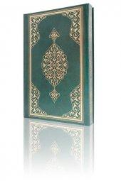 Rahle Boy Kuran-ı Kerim (2 Renkli, Yeşil, Mühürlü)-3