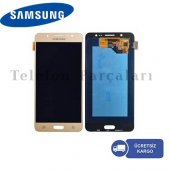 Samsung Galaxy J5 J530 Pro Lcd Ekran (Gold)