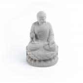 Skal Collective Oturan Beton Buddha Heykeli